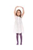 Tanzende kleine Ballerina Stockfotos