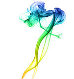Tanzender abstrakter Rauch Lizenzfreies Stockfoto