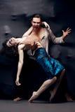 Tanzender Zeitgenosse der Paare Lizenzfreies Stockbild