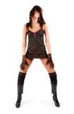 Tanzenfrau lizenzfreie stockfotos