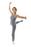 Tanzenfrau Stockfoto