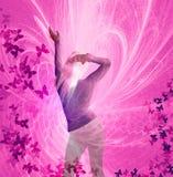 Tanzenfrau Stockbilder