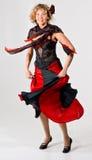 Tanzenfrau lizenzfreie stockfotografie