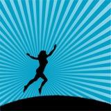 Tanzenfrau Stockbild