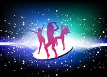 Tanzenfrauen lizenzfreie abbildung