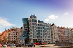Tanzenhaus in Prag Stockfotografie