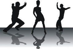 Tanzenleute lizenzfreie abbildung