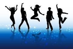 Tanzenleute Lizenzfreies Stockfoto
