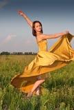 Tanzenmädchen Lizenzfreie Stockbilder