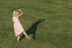 Tanzenmädchen Stockfotografie