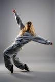 Tanzenmädchen lizenzfreie stockfotografie