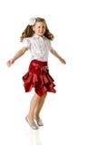 Tanzenmädchen Lizenzfreies Stockfoto