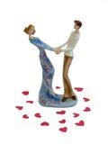 Tanzenpaare. Lizenzfreies Stockfoto
