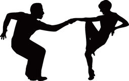 Tanzenpaare Stockfotografie