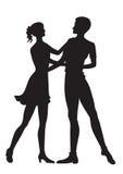 Tanzenpaare Lizenzfreies Stockbild