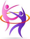 Tanzenpaare stock abbildung