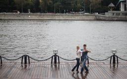 Tanzenpaare? getrennt auf Weiß Lizenzfreie Stockbilder