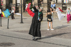Tanzenpriester Lizenzfreie Stockfotos