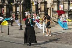 Tanzenpriester Lizenzfreie Stockfotografie