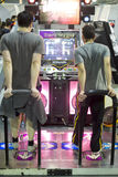 Tanzenvideospiel Stockfotos