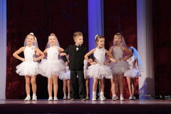 Tanzenwettbewerb in Kremenchuk, Ukraine Lizenzfreie Stockfotografie