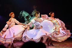 Tanzfrauen Stockbilder