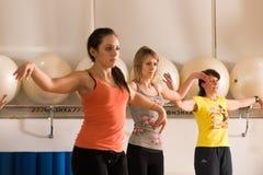 Tanzklasse für Frauen Stockbilder