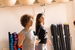 Tanzklasse für Frauen Lizenzfreies Stockbild