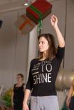 Tanzklasse für Frauen Lizenzfreie Stockfotos