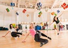 Tanzklasse für Frauen Stockfoto
