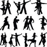 Tanzleute Stockfotografie