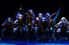 Tanztheaterkonzert 'Kolibri', am 17. Januar 2016 in Minsk, Weißrussland Lizenzfreies Stockfoto