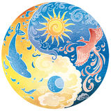 Tao Mandala Diksha Lizenzfreies Stockfoto