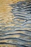 Tao trzymać na dystans abstrakt mokry piasek i plaża w chiny południowi Obrazy Stock