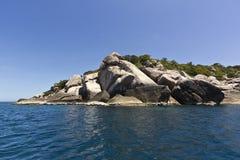 Tao wyspa w południe Tajlandia Obrazy Royalty Free