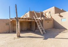 Taos Pueblo World Heritage Site Stock Photo