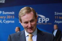 Taoiseach Irlandia Enda Kenny Zdjęcia Stock