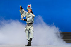 """The Taoist crane-The fifth act Steal immortal-Kunqu Opera""""Madame White Snake"""" Royalty Free Stock Photo"""