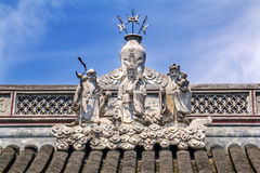 Taoist God Statues City God Temple Yueyuan Shanghai China Royalty Free Stock Image