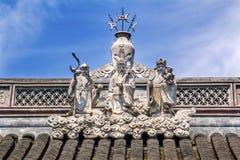 Taoist God Statues City God Temple Yueyuan Shanghai China Royalty Free Stock Image