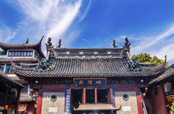 Taoist God Statues City God Temple Yueyuan Shanghai China Stock Image