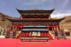 Taoist temple building in tibet Stock Photography