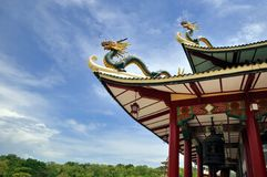 Taoist Temple, Cebu City, Philippines. Built in 1972, the Cebu Taoist Temple is located in Beverly Hills Subdivision in Cebu City, Philippines. The temple was Stock Photo