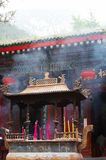 Taoist temple in Huashan mountain Royalty Free Stock Photos