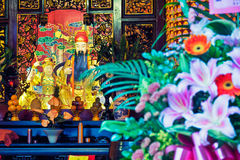 Taoist temple in Taipei - Taiwan. Royalty Free Stock Photography