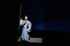 "TaoistFu Shan-Shanxi Operatic""Fu Shan till Beijing† Royaltyfria Foton"