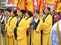 Taoistmönche lizenzfreies stockbild