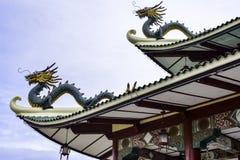 Taoistycznego Świątynnego Cebu Filipińskiego dnia jaskrawy barwiony piękny Fotografia Royalty Free