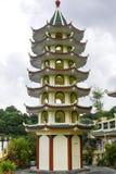 Taoistycznego Świątynnego Cebu Filipińskiego dnia jaskrawy barwiony piękny Obraz Stock