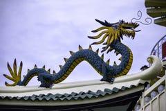 Taoistycznego Świątynnego Cebu Filipińskiego dnia jaskrawy barwiony piękny Obraz Royalty Free